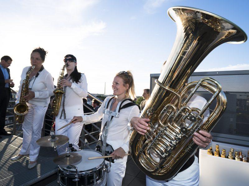 EnBW Sommerfest 2017 Berlin,  Dachterasse  EnBW, 01.06.2017 Fotograf: HC Plambeck