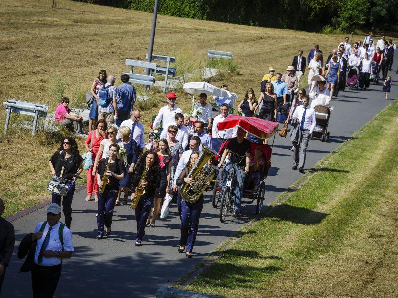 Marchingband unterwegs mit BrassAppeal